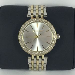 Accessories - Two Tone Stainless Steel Darci Watch 39mm EUC
